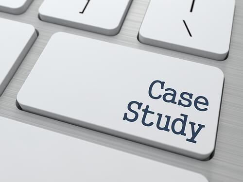 Case Study - Button on White Modern Computer Keyboard.